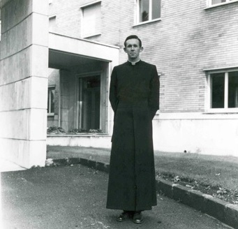 Fr. Brian Fagan during his novitiate