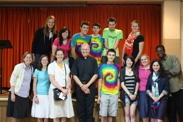 Day of Evangelization group in Rhode Island