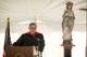 Fr. Lorenzo  Gomez LC speaking at Everest Collegiate High School 2014 graduation