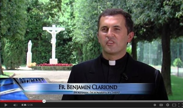 Fr. Benjamin Clariond on Vaticano report
