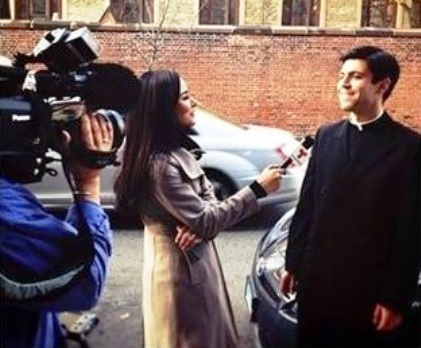 Fr. Juan Pablo Duran LC interview with Telemundo