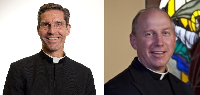 Fr. Shawn Aaron and Fr. Matthew Von Smoorenburg