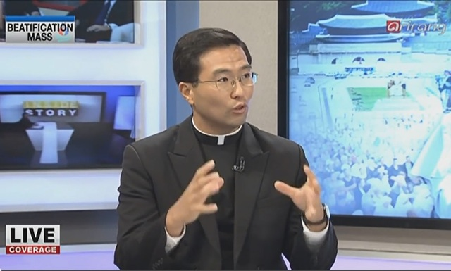 Fr. John Ko LC on Arirang TV