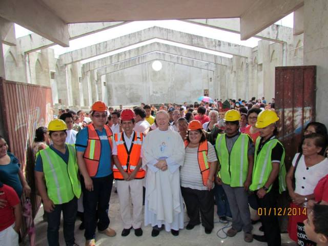 Fr. Patrick Corrigan and his building project