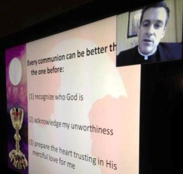 Fr. Michael Mullan on Skype