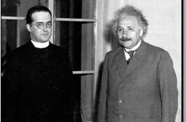 Fr. Georges Lemaître and Albert Einstein