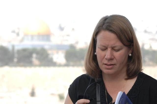 Deb Bauer in Jerusalem
