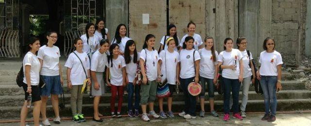 Missionaries on the street in Cebu
