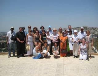 group shot Jerusalem