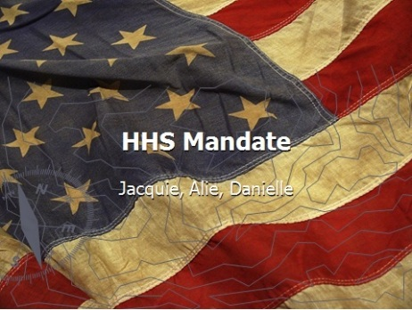 HHS Mandate Presentation
