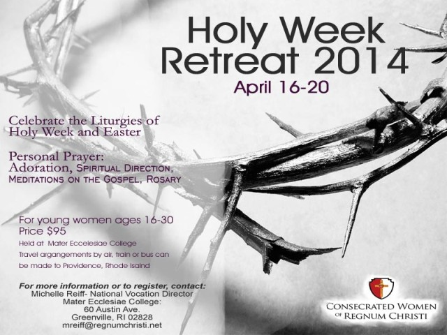 Holy Week Retreat in Rhode Island