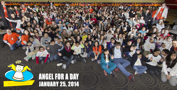 Houston Angel for a Day