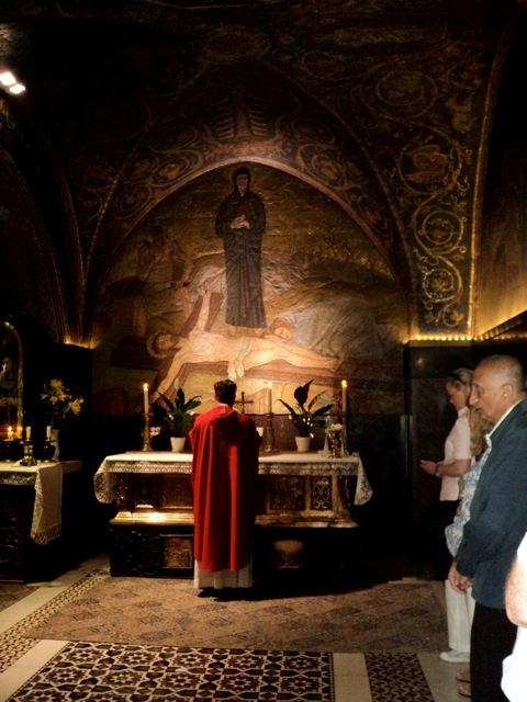 in holy sepulcher fr michael