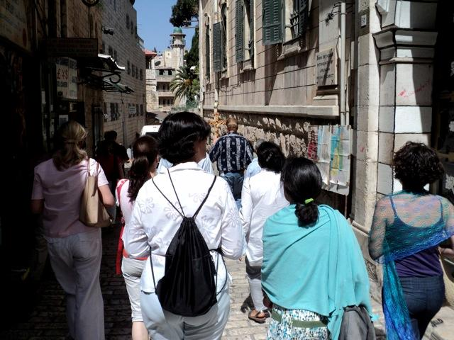walking streets Jerusalem