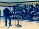 Jim Rockwell addressing the Everest students
