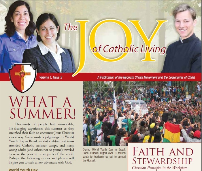 November 2013 Joy of Catholic Living