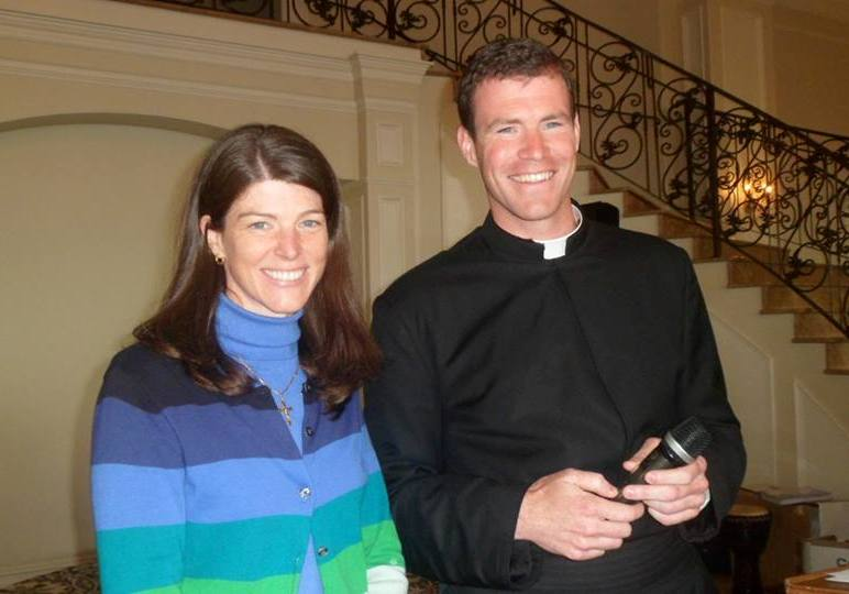 Siblings Kathleen Murphy and Fr. Thomas Murphy LC