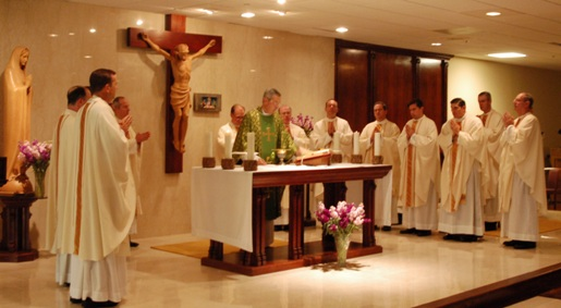 Mass at Legion Assembly