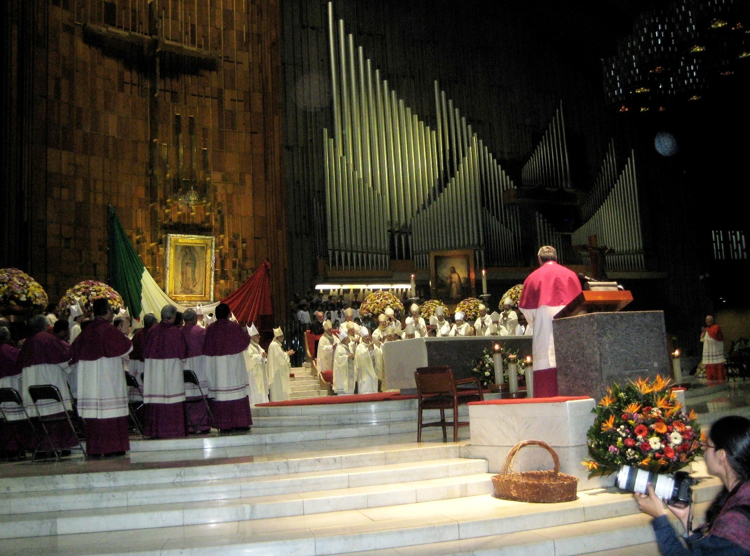 Mass at the Mexico City Basilica