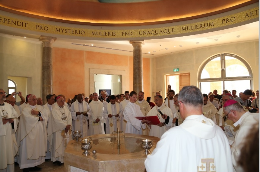 Mass at Magdala Center Inauguration