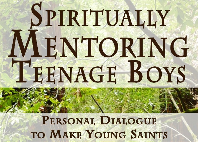 Spiritiually Mentoring Teenage Boys