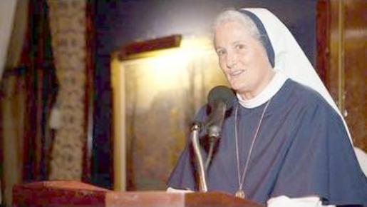 Mother Agnes Mary Donovan, Superior General of the Sisters of Life