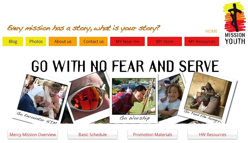 Mission Youth website