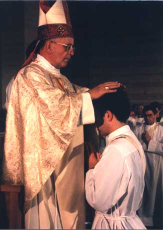 On December 24, 1985, Father Alvaro Corcuera, LC, is ordained a priest by Cardinal Eduardo Martínez Somalo.