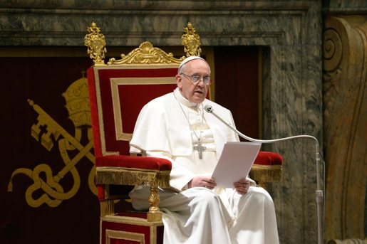 Pope Francis calls for prayer and fasting