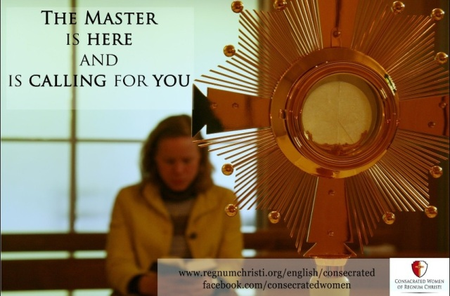 Vocations Poster for Consecrated Life