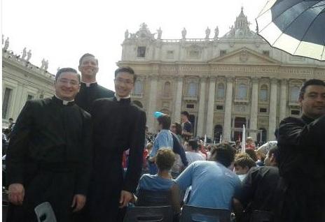 Legionaries in Rome
