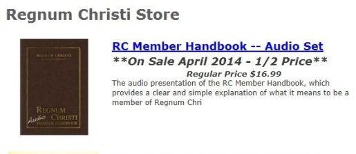 RC Resource Center Audio Handbook sale