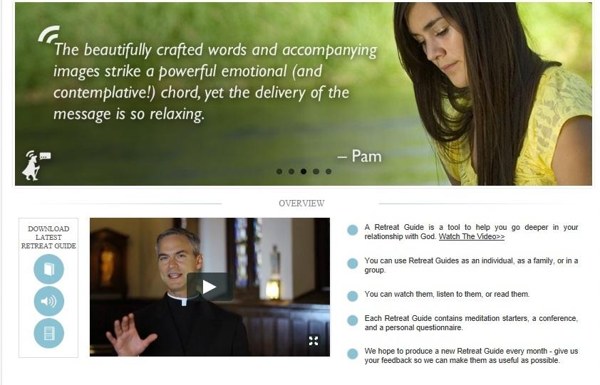 RC Spirituality website