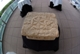 A replica of the Magdala Stone at a fundraising event