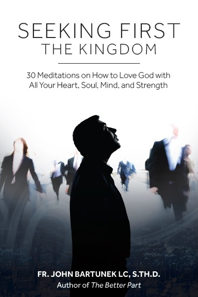 """Seeking First the Kingdom"" book cover"