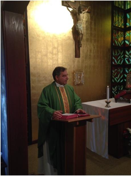 Fr. Dean Stasell LC preaching SE