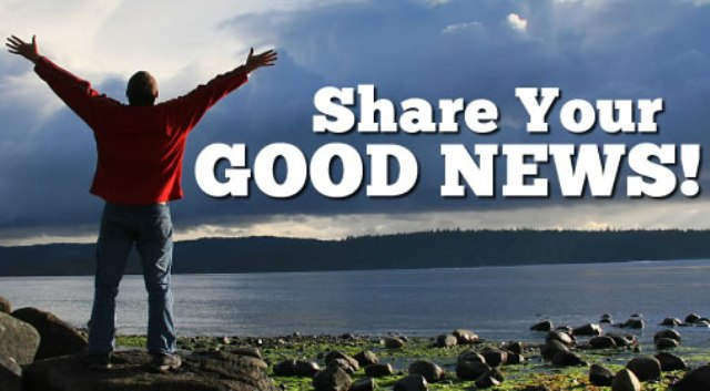 Share Your Good News