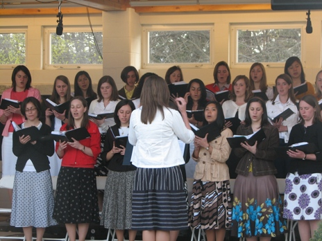 RC consecrated singers