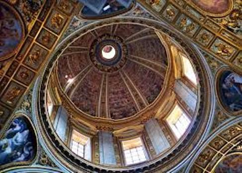 Dome of Sistine Chapel