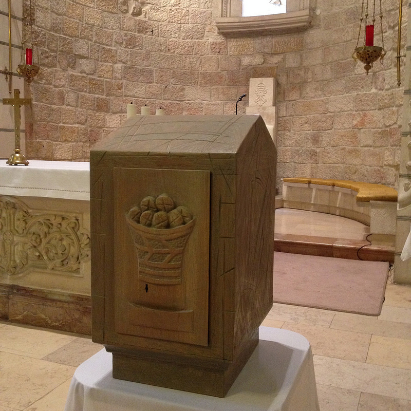 The Duc in Altum Church tabernacle