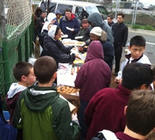 Conquest Club feeds the homeless