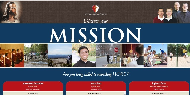 New vocations website