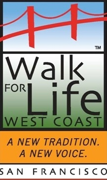 Logo for the Walk for Life in San Francisco