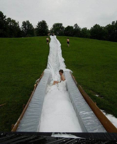 Water Slide at Camp Kilimanjaro