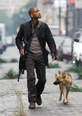 "Will Smith in ""I am Legend"""