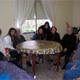 Hicieron visitas casa por casa, transmitiendo su fe y llevando consuelo y alegría a los hogares de Méntrida.