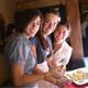 Tres jóvenes dinámicas y alegres son las colaboradoras del Regnum Christi que desempeñarán su labor evangelizadora en Costa Rica.
