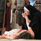 Escena de la obra teatral �Cristo vive�