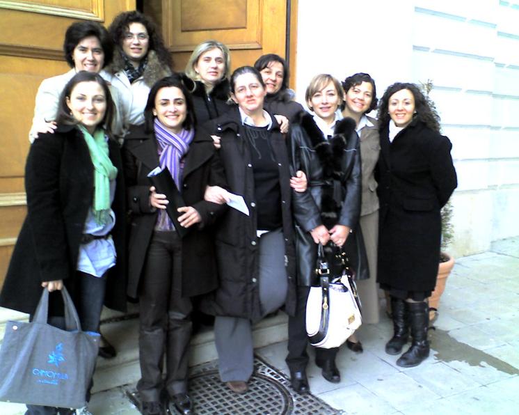 Alcune partecipanti al corso di formazione organizzato dal Regnum Christi