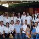 Los organizadores del evento, pertenecientes a Familia Unida de Monterrey.